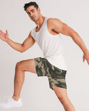 Laden Sie das Bild in den Galerie-Viewer, Dwayne Elliott Collection Camo Men's Jogger Shorts - Dwayne Elliott Collection