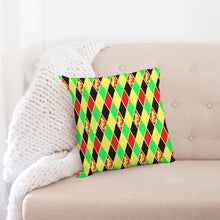 "Load image into Gallery viewer, Dwayne Elliott Colection RBG Throw Pillow Case 18""x18"" - Dwayne Elliott Collection"