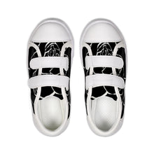 Load image into Gallery viewer, Dwayne Elliot Collection Black Rose Kids Velcro Sneaker - Dwayne Elliott Collection