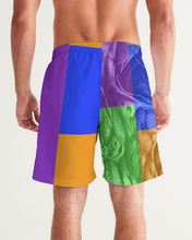 Load image into Gallery viewer, Skull Bow Men's Swim Trunk