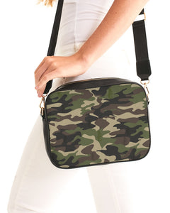 Dwayne Elliott Collection Camo Crossbody Bag - Dwayne Elliott Collection