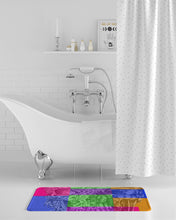 Load image into Gallery viewer, Skull Bow Bath Mat
