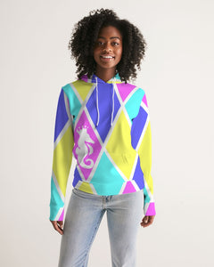 Dwayne Elliott Collection Women's Argyle Hoodie - Dwayne Elliott Collection