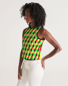Dwayne Elliott Collection Argyle Cropped Tank - Dwayne Elliott Collection
