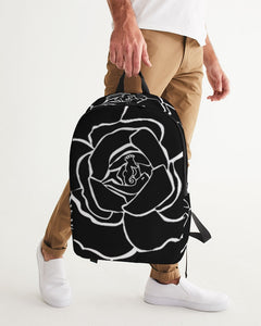 Dwayne Elliot Collection Black Rose Large Backpack - Dwayne Elliott Collection