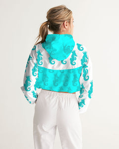 Dwayne Elliott Collection Women's Cropped Windbreaker