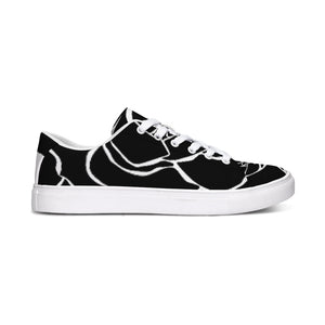 Dwayne Elliot Collection Black Rose Sneaker - Dwayne Elliott Collection
