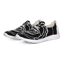 Laden Sie das Bild in den Galerie-Viewer, Dwayne Elliot Collection Black Rose Lace Up Flyknit Shoe - Dwayne Elliott Collection