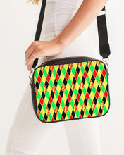 Laden Sie das Bild in den Galerie-Viewer, Dwayne Elliott Colection RBG Crossbody Bag - Dwayne Elliott Collection