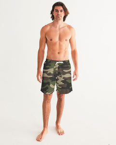 Dwayne Elliott Collection Camo Men's Swim Trunk - Dwayne Elliott Collection
