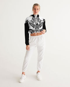 Dwayne Elliott Collection  Women's Cropped Windbreaker - Dwayne Elliott Collection