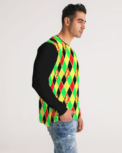 Load image into Gallery viewer, Dwayne Elliott Colection RBG Men's Long Sleeve Tee - Dwayne Elliott Collection