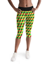 Load image into Gallery viewer, Dwayne Elliott Colection RBG Women's Mid-Rise Capri - Dwayne Elliott Collection