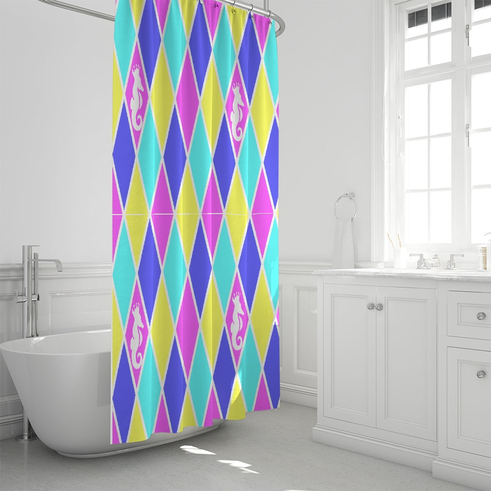 Dwayne Elliott Collection Argyle Shower Curtain 72