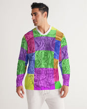 Load image into Gallery viewer, Skull Bow Men's Long Sleeve Sports Jersey