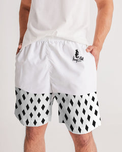 Dwayne Elliott Collection Black Diamond Men's Jogger Shorts - Dwayne Elliott Collection
