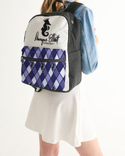 Load image into Gallery viewer, Dwayne Elliott Collection Argyle Small Canvas Backpack - Dwayne Elliott Collection