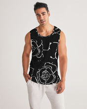 Load image into Gallery viewer, Dwayne Elliot Collection Black Rose Men's Sport Tank - Dwayne Elliott Collection