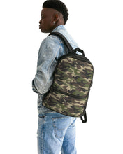 Load image into Gallery viewer, Dwayne Elliott Collection Camo Small Canvas Backpack - Dwayne Elliott Collection