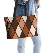 Load image into Gallery viewer, Dwayne Elliott Collection Brown Stylish Tote - Dwayne Elliott Collection