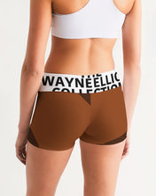 Load image into Gallery viewer, Dwayne Elliott Collection Women's Mid-Rise Yoga Shorts - Dwayne Elliott Collection