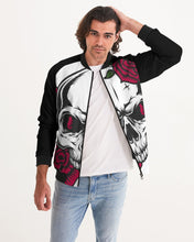 Load image into Gallery viewer, Dwayne Elliott Collection Skull Rose Men's Bomber Jacket - Dwayne Elliott Collection