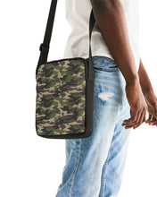 Load image into Gallery viewer, Dwayne Elliott Collection Camo Messenger Pouch - Dwayne Elliott Collection