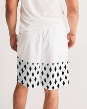 Load image into Gallery viewer, Dwayne Elliott Collection Black Diamond Men's Jogger Shorts - Dwayne Elliott Collection