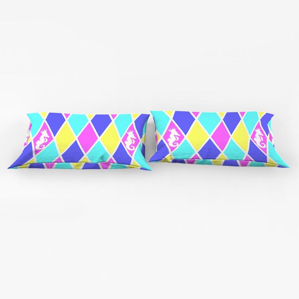 Dwayne Elliott Collection Argyle King Pillow Case - Dwayne Elliott Collection