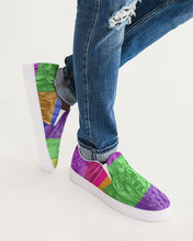 Load image into Gallery viewer, Skull Bow Men's Slip-On Canvas Shoe