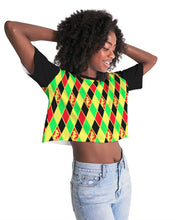 Load image into Gallery viewer, Dwayne Elliott Colection RBG Women's Lounge Cropped Tee - Dwayne Elliott Collection