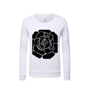 Dwayne Elliot Collection Black Rose Kids Long Sleeve Tee - Dwayne Elliott Collection