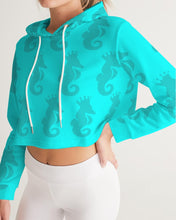 Load image into Gallery viewer, Dwayne Elliott Collection Women's Cropped Hoodie