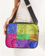 Load image into Gallery viewer, Skull Bow Crossbody Bag