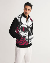 Load image into Gallery viewer, Dwayne Elliott Collection Skull Rose Men's Track Jacket - Dwayne Elliott Collection