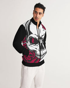 Dwayne Elliott Collection Skull Rose Men's Track Jacket - Dwayne Elliott Collection