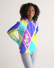 Load image into Gallery viewer, Dwayne Elliott Collection Women's Argyle Hoodie - Dwayne Elliott Collection