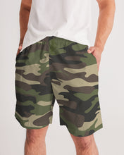 Load image into Gallery viewer, Dwayne Elliott Collection Camo Men's Jogger Shorts - Dwayne Elliott Collection
