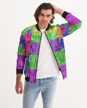 Load image into Gallery viewer, Skull Bow Men's Bomber Jacket