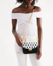 Load image into Gallery viewer, The Dwayne Elliott Black Diamond Collection Small Shoulder Bag - Dwayne Elliott Collection