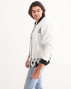 Dwayne Elliott Collection Black Diamond Men's Bomber Jacket - Dwayne Elliott Collection