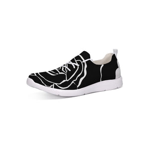 Dwayne Elliot Collection Black Rose Lace Up Flyknit Shoe - Dwayne Elliott Collection