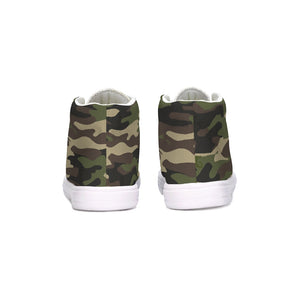Dwayne Elliott Collection Camo Kids Hightop Canvas Shoe - Dwayne Elliott Collection