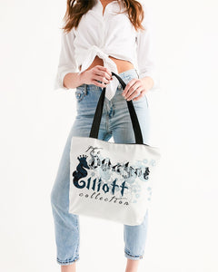 Dwayne Elliott Collection Canvas Zip Tote - Dwayne Elliott Collection