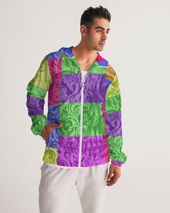 Skull Bow Men's Windbreaker