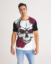 Load image into Gallery viewer, Dwayne Elliott Collection Skull Rose Men's Tee - Dwayne Elliott Collection