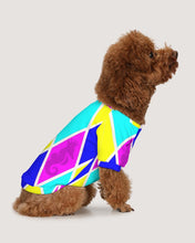 Load image into Gallery viewer, Argyle Cotton Candy Doggie Tee