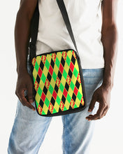Load image into Gallery viewer, Dwayne Elliott Colection RBG  Messenger Pouch - Dwayne Elliott Collection