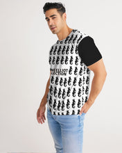 Load image into Gallery viewer, Dwayne Elliott Collection Logo All Print Men's Tee - Dwayne Elliott Collection
