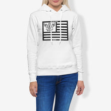 Load image into Gallery viewer, Dwayne Elliott Collection Flag Women's Pullover Hoodie - Dwayne Elliott Collection
